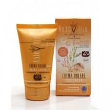 Organic sunscreen Anthyllis SPF 20 medium protection