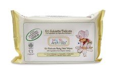 Delicated nappy change wipes organic