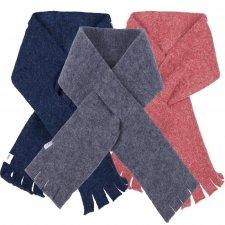 Organic wool fleece medium scarf Popolini