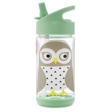 Owl water bottle in Tritan