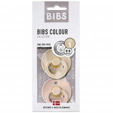 Pacifiers BIBS Color 2 pcs Vanilla and Powder Pink