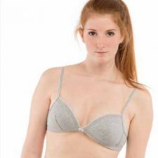 Padded Bra in organic cotton