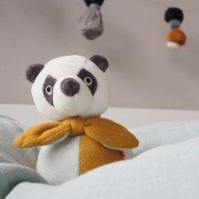 Panda Birillo sempre in piedi in cotone biologico