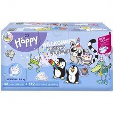 Pannolini Happy BellaBaby - 1 Newborn BOX NASCITA