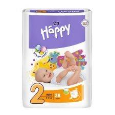 Pannolini Happy BellaBaby - 2 Mini 3/6kg 38 pezzi