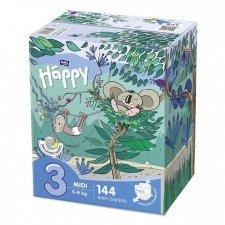 Pannolini Happy BellaBaby - 3 Midi 5/9kg Box 144 pezzi