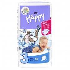 Pannolini Happy BellaBaby - 3 Midi 5/9kg 52 pezzi