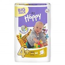 Pannolini Happy BellaBaby - 4+ Maxi plus 9/20kg 62 pezzi