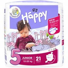 Pannolini Happy BellaBaby - 5 Junior 12/25kg 21 pezzi