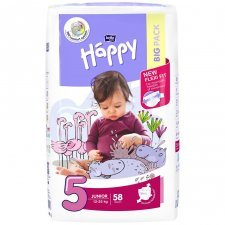 Pannolini Happy BellaBaby - 5 Junior 12/25kg 58 pezzi