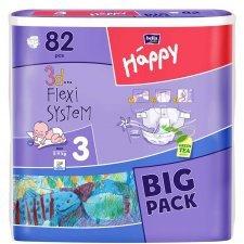 Pannolini Happy BellaBaby - 2 Mini 3/6kg 82 pezzi