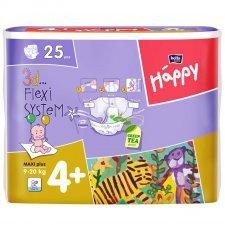 Pannolini Happy BellaBaby - 4+ Maxi plus 9/20kg 25 pezzi