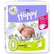 Pannolini Happy BellaBaby - 0 prematuri <2kg 46 pezzi