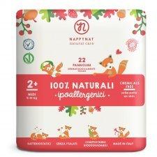 Pannolini Nappynat Biodegradabili 2+ Midi 4/10 kg 22 pezzi