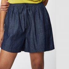 Pantaloncini Camila in Cotone Biologico Chambray