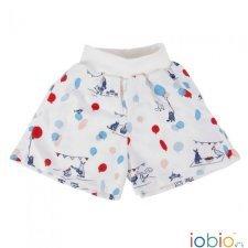 Pantaloncini Fantasia in cotone biologico