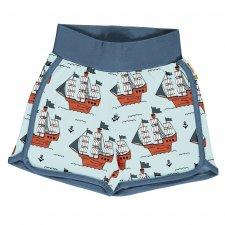 Pantaloncini Pirati per bambini in cotone biologico