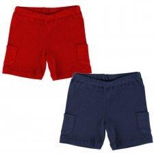 Pantaloncini per bambini in cotone biologico