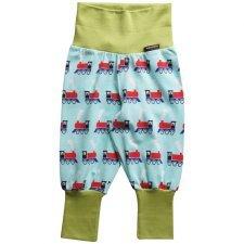 Pantalone Trenino con polsini in cotone biologico