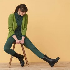 Pantalone da donna Laura in Cotone Biologico
