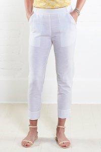 Pantalone donna 7/8 in cotone equo solidale