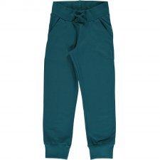Pantalone tuta Petrolio in cotone biologico