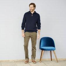 Pantaloni uomo in Velluto di cotone biologico
