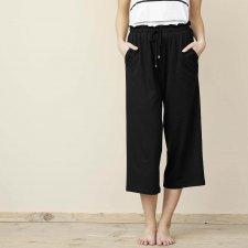 Pantaloni 7/8 Donna Inga in Cotone Biologico e Bamboo