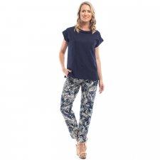 Pantaloni CANARY ISLAND in viscosa naturale