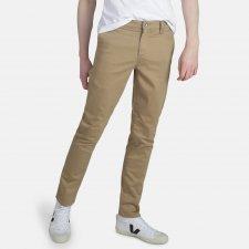 Pantaloni Chino Camel in cotone biologico