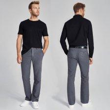 Pantaloni Chino unisex in canapa e cotone biologico