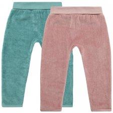 Pantaloni Aki in Ciniglia di Cotone biologico
