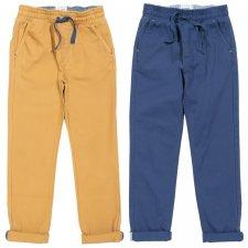 Pantaloni Comfy chinos per bambino in cotone biologico