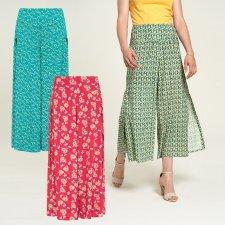Pantaloni con spacco laterale in Ecovero™