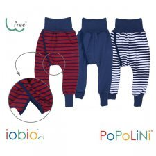 Senza pannolino - Pantaloni Crawlers in cotone biologico