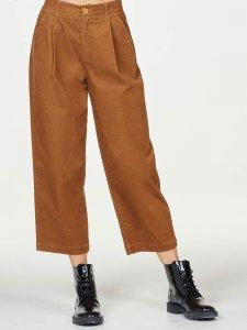 Pantaloni Culotte Poppie in velluto di cotone biologico
