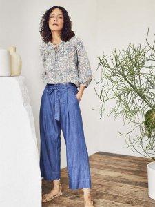 Pantaloni culottes ESTHER da donna in Tencel™ e Cotone Biologico