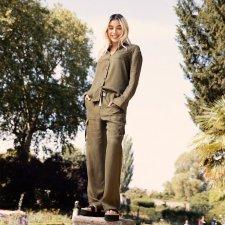 Pantaloni DANIELLE da donna in Seta Vegetale e Viscosa sostenibile