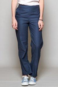 Pantaloni gamba dritta in Cotone Equosolidale