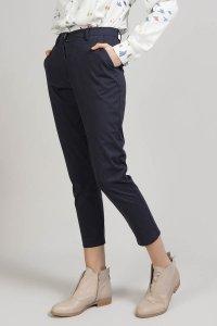 Pantaloni INDO slim da donna in cotone, moda etica e sostenibile