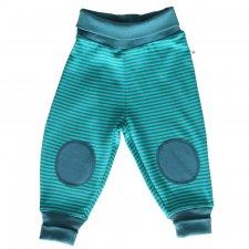 Pantaloni jersey per bambini Righe Danubio 100% cotone biologico