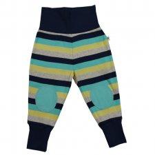 Pantaloni jersey per bambini Righe Ephesus 100% cotone biologico