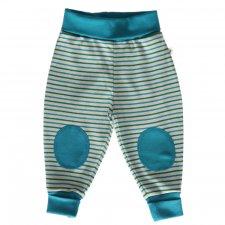 Pantaloni jersey per bambini Righe Mare 100% cotone biologico