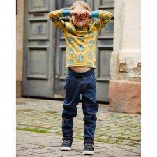 Pantaloni Jogger Denim per bambino in cotone biologico