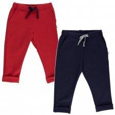 Pantaloni Louie per bambini in felpa di cotone biologico