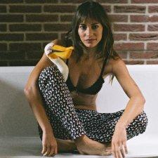 Pantaloni Lounge Caroline in cotone biologico