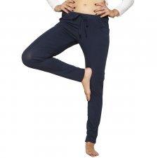 Pantaloni Matilde Blu in Eucalipto