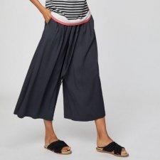 Pantaloni Paperbag Eshi Grafite in Modal e Bamboo