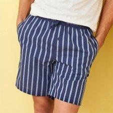 Pantaloni pigiama corti da Uomo in 100% Cotone Biologico