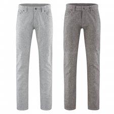 Pantaloni Recycled in Canapa e Cotone Biologico